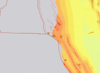 Research Shows Cascadia Quakes Sometimes Trigger San Andreas Fault