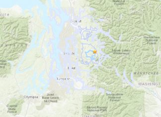 earthquake swarms hit Seattle on Dec 18-19