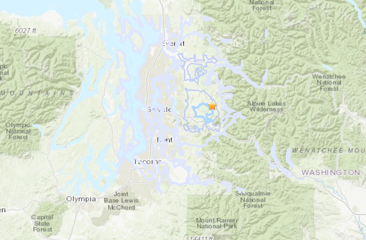Series of earthquakes hits near Seattle while quakes rattle ...