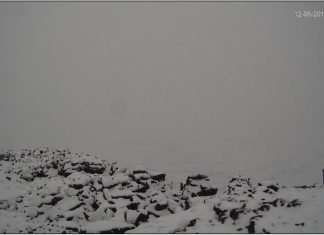 hawaii snow, hawaii snow december 6 2019, snow mauna loa volcano
