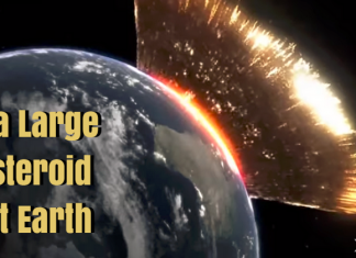 What would happen if a large asteroid hit Earth?
