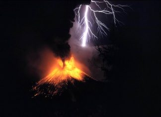 More than 109,000 lightnings hit before deadly White Island volcanic eruption in New Zealand