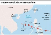 Typhoon Phanfone devastates the Philippines