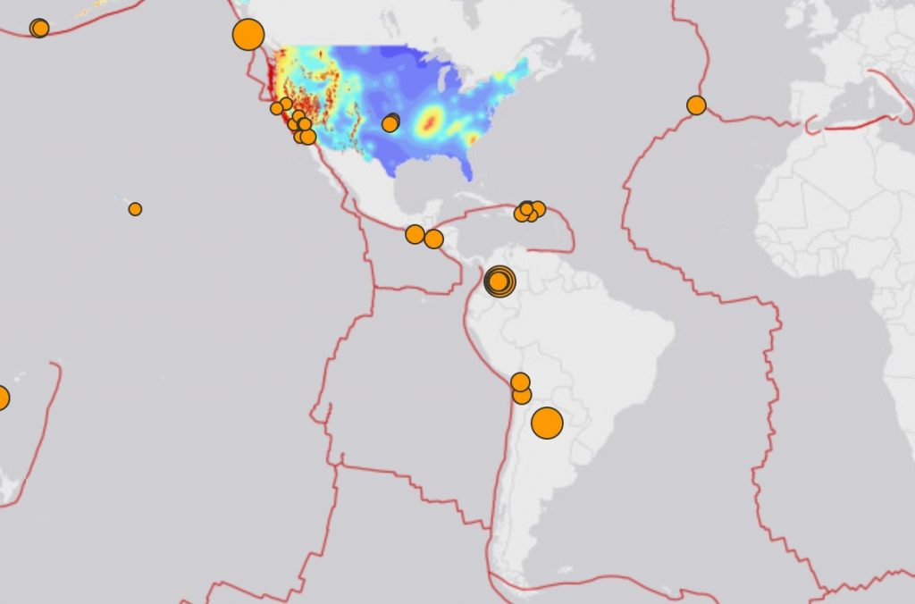 M6.3, M6.0 and M6.0 earthquakes hit Canada, Colombia and Argentina on December 24-25.