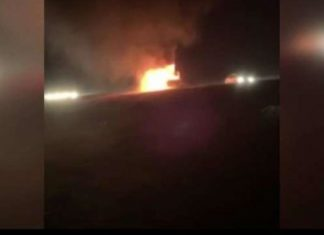 truck engulfs in flames after lightning strikes in Kansas family escapes, truck engulfs in flames after lightning strikes in Kansas family escapes video, truck engulfs in flames after lightning strikes in Kansas family escapes interview