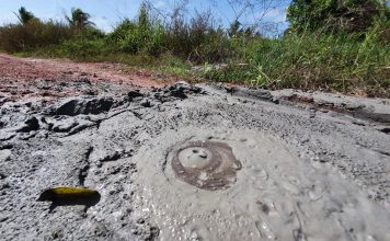 6 new mud volcanoes form and grow on Trinidad, new mud volcanoes trinidad and tobago, trinidad new mud volcanoes