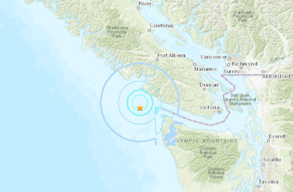 M4.5 earthquake hit vancouver island near the Cascadia subduction zone on January 24, M4.5 earthquake hits vancouver island near Cascadia subduction zone, M4.5 earthquake hits vancouver island near Cascadia subduction zone map, M4.5 earthquake hits vancouver island near Cascadia subduction zone video, M4.5 earthquake hits vancouver island near Cascadia subduction zone pictures