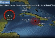 M7.7 earthquake strikes between Jamaica and Cuba, M7.7 earthquake strikes between Jamaica and Cuba video, M7.7 earthquake strikes between Jamaica and Cuba pictures