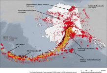 alaska earthquake, alaska earthquake 2019, Alaska Earthquake Center center says 2019 finished as the second highest year on record