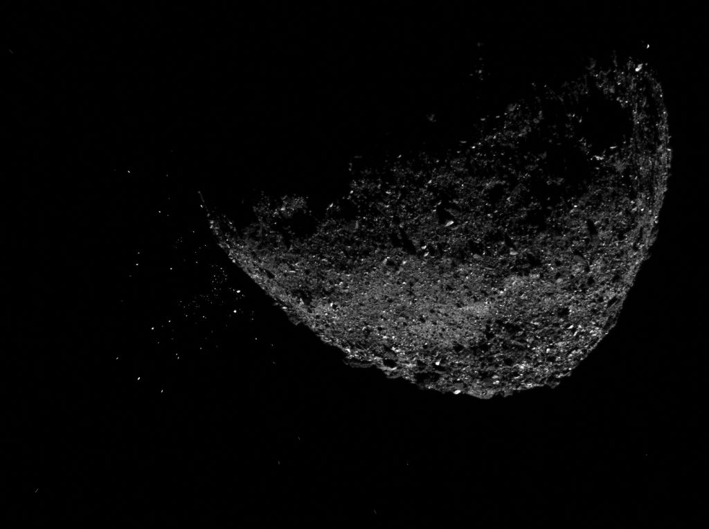 asteroid bennu eruption, asteroid bennu ejection