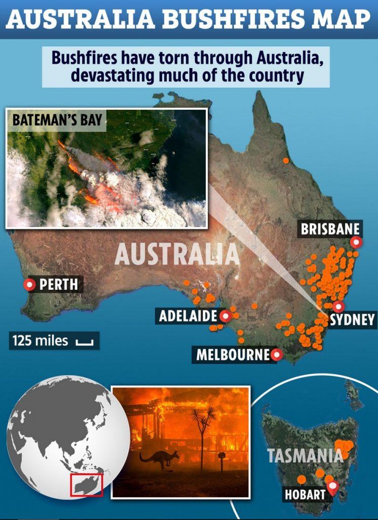 australia fire map, australia fire map 2019-2020, australia fire map 2020