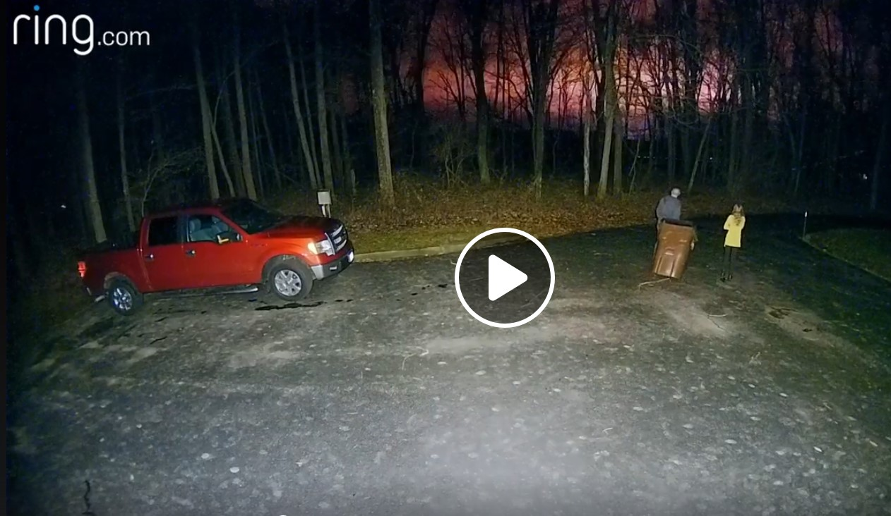 Mysterious red flash in the skies over Bethel, Ohio remains unexplained in video - Strange Sounds