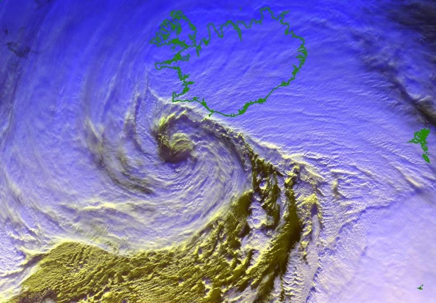 bombogenesis iceland, bombogenesis iceland map, bombogenesis iceland satellite images, bombogenesis iceland january 10 2020