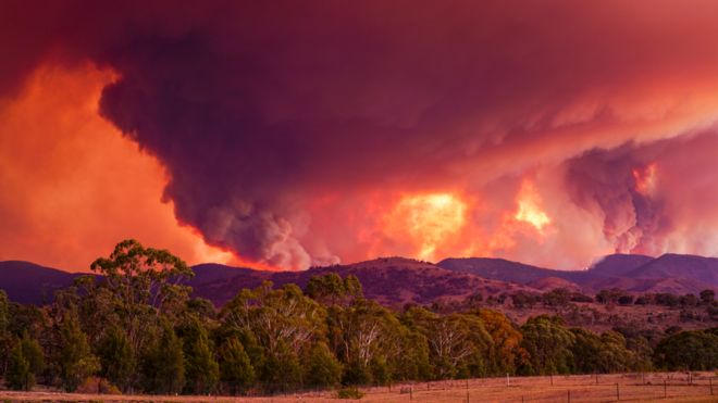 canberra fire state of emergency