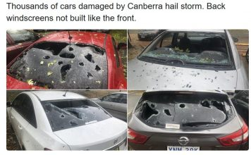 Canberra hailstorm january 20 2020, Canberra hailstorm january 20 2020 pictures, Canberra hailstorm january 20 2020 video