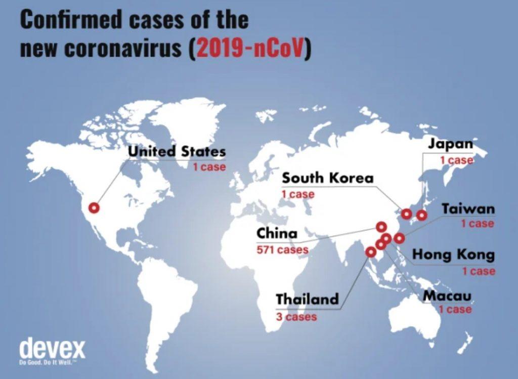 map confirmed case of new coronavirus 2019-nCoV, confirmed case of new coronavirus 2019-nCoV map, confirmed case of new coronavirus 2019-nCoV epidemics map