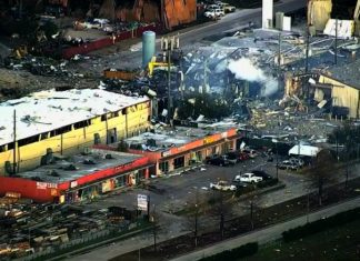 Houston explosion kills at least 2 shakes the city and damages homes, houston explosion january 24 2020, houston explosion january 24 2020 video, houston explosion january 24 2020 pictures