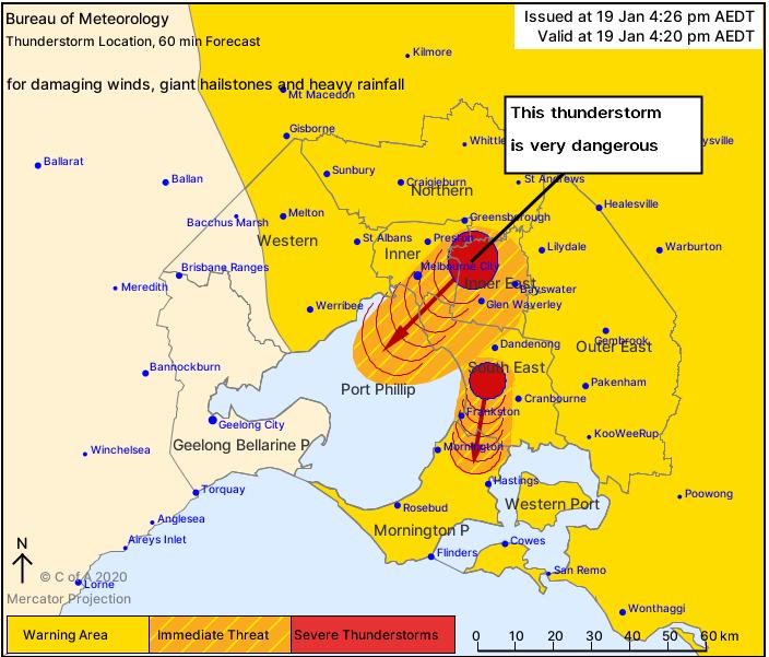 melbourne hailstorm, melbourne hail, giant hailstones melbourne, Very dangerous supercell thunderstorm drops giant hail on Melbourne