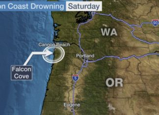 oregon giant wave sweeps family ocean death, king tides january 2020