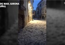spanish town submerged in meters of sea foam, Storm Gloria submerges Spanish town in meters of sea foam in Catalunia, Storm Gloria submerges Spanish town in meters of sea foam in Catalunia video, Storm Gloria submerges Spanish town in meters of sea foam in Catalunia pictures