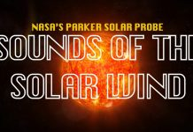 solar wind sound, sound of solar wind, sound of solar wind video, What does the solar wind sound like?, Listen to the spooky sound of the solar wind