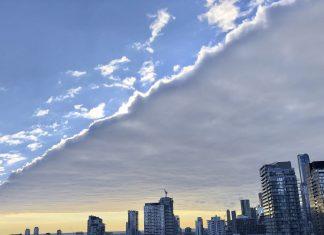 toronto rectangular cloud, toronto rectangular cloud picture, toronto rectangular cloud video, toronto rectangular cloud january 2020