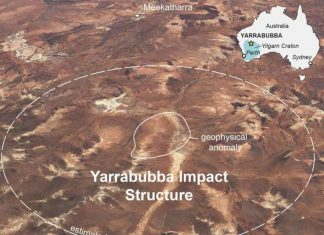 Yarrabubba impact crater in Australia is the oldest impact crater on earth, Yarrabubba impact crater in Australia is the oldest impact crater on earth map, Yarrabubba impact crater in Australia is the oldest impact crater on earth science