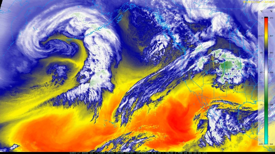 Alaska double bombogenesis in February 2020, aleutian islands Alaska double bombogenesis in February 2020, Alaska double bombogenesis in February 2020 map Alaska double bombogenesis in February 2020 satellite images