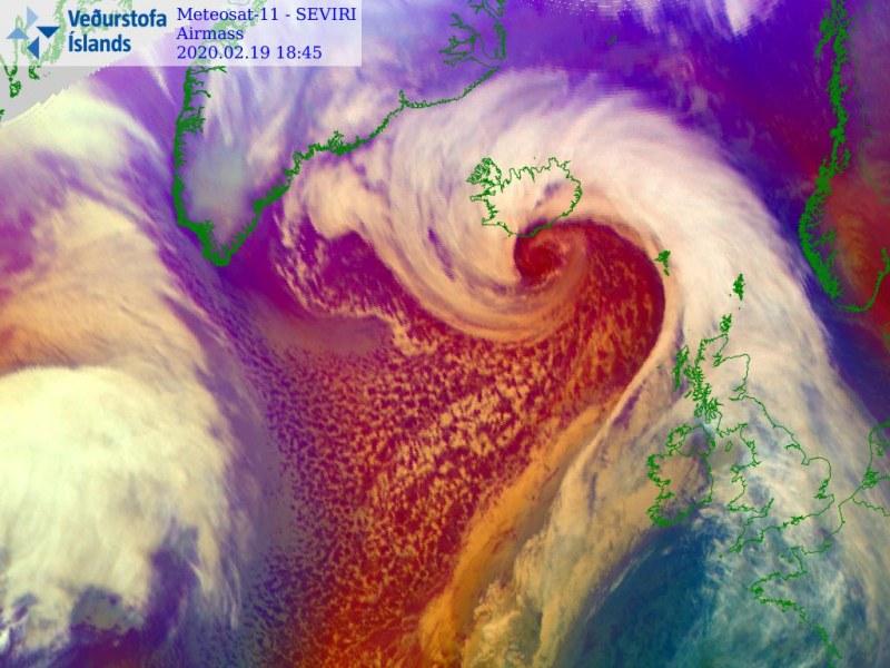 bomb cyclone, bomb cyclone iceland, bomb cyclone iceland picture, bomb cyclone iceland video, bomb cyclone iceland february 19 2020