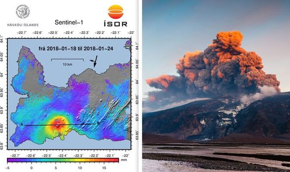 While a powerful earthquake swarm hits Mount Thorbjorn, deadly gases were measured in cave also on Reykjanes Peninsula