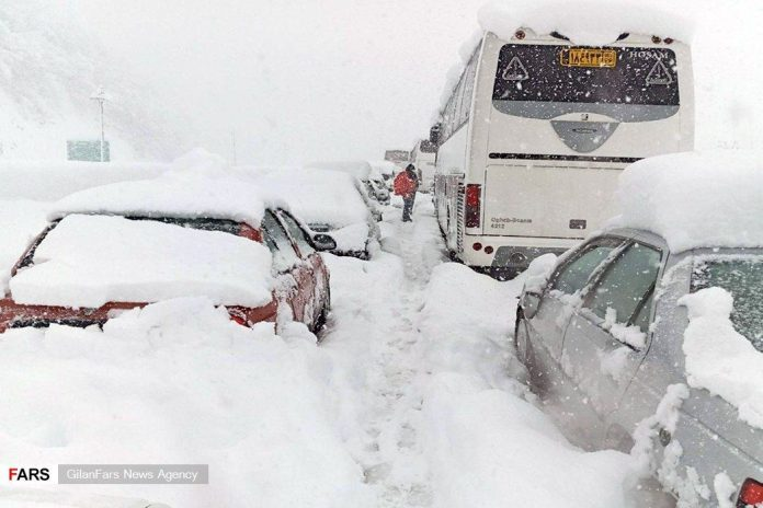 Snow storm buries Iran in meters of snow, Snow storm buries Iran in meters of snow videos, Snow storm buries Iran in meters of snow pictures