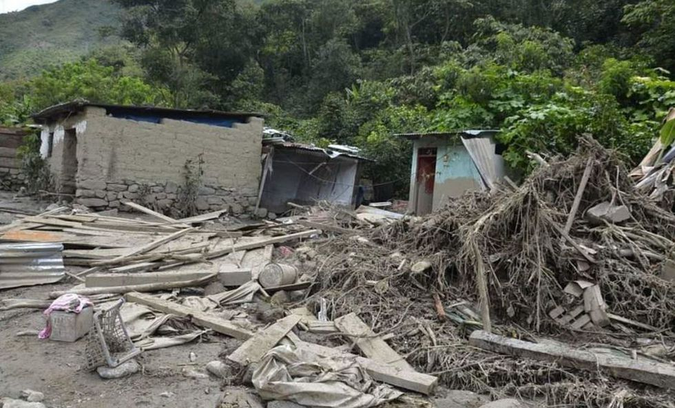 mudflow peru machu pichu salkantay, mudflow peru machu pichu salkantay video, mudflow peru machu pichu salkantay picture, Destruction after enormous and deadly mudflow in Salkantay Valley near Machu Pichu in Peru