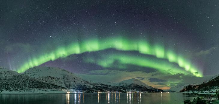 strange aurora, strange shaped aurora, strange northern lights