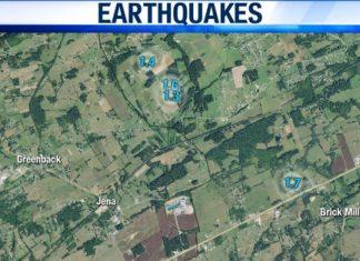 tennessee earthquake february 2020, tennessee earthquake february 2020 map, tennessee earthquake february 2020 video
