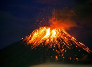 tungurahua volcano collapse, tungurahua volcano eruption collapse