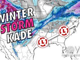 winter storm kade, winter storm kade forecast, winter storm kade video, winter storm kade forecast video, winter storm kade february 2020