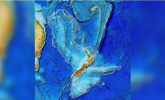 zealandia, zealandia map, zealandia video, zealandia forms during ring of fire birth
