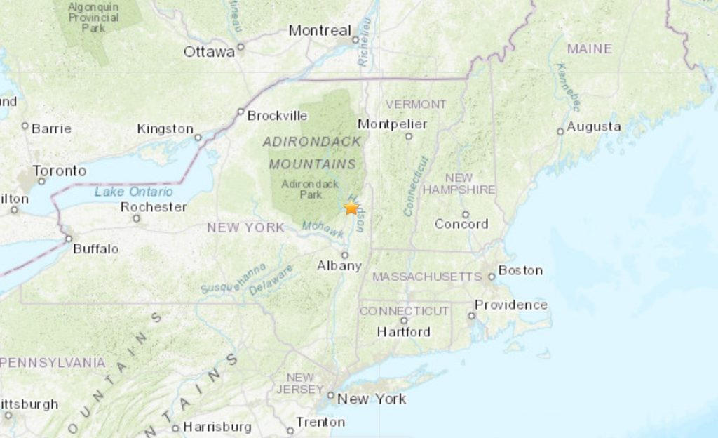 A rare M3.1 earthquake hits New York on March 11 2020, New York earthquake March 11 2020, New York earthquake March 11 2020 map, New York earthquake March 11 2020 video
