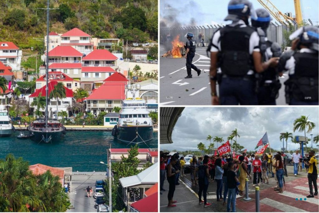 coronavirus riots in french oversea territories, coronavirus saint-barthelemy, coronavirus saint-martin, Panic is spreading across the French Overseas Territories where three cases of coronavirus have already been confirmed in Saint-Barthélemy and in Saint-Martin