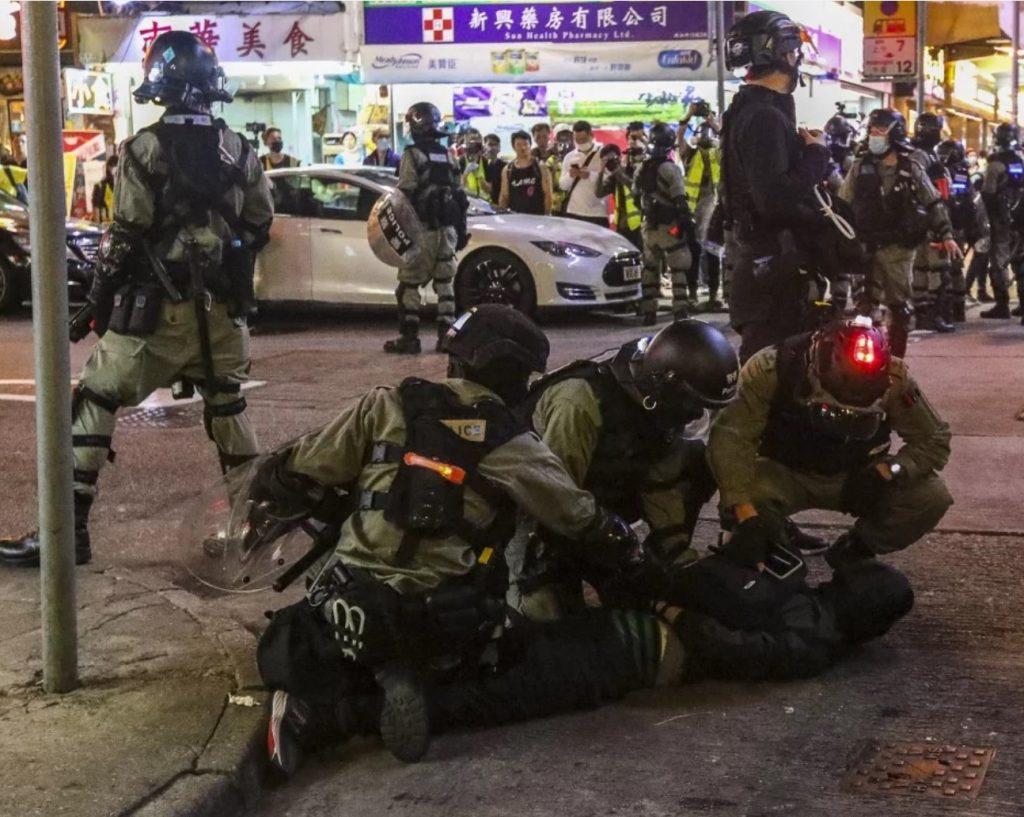 hong kong protest march 2020, hong kong protest march 2020 video, hong kong protest march 2020 pictures