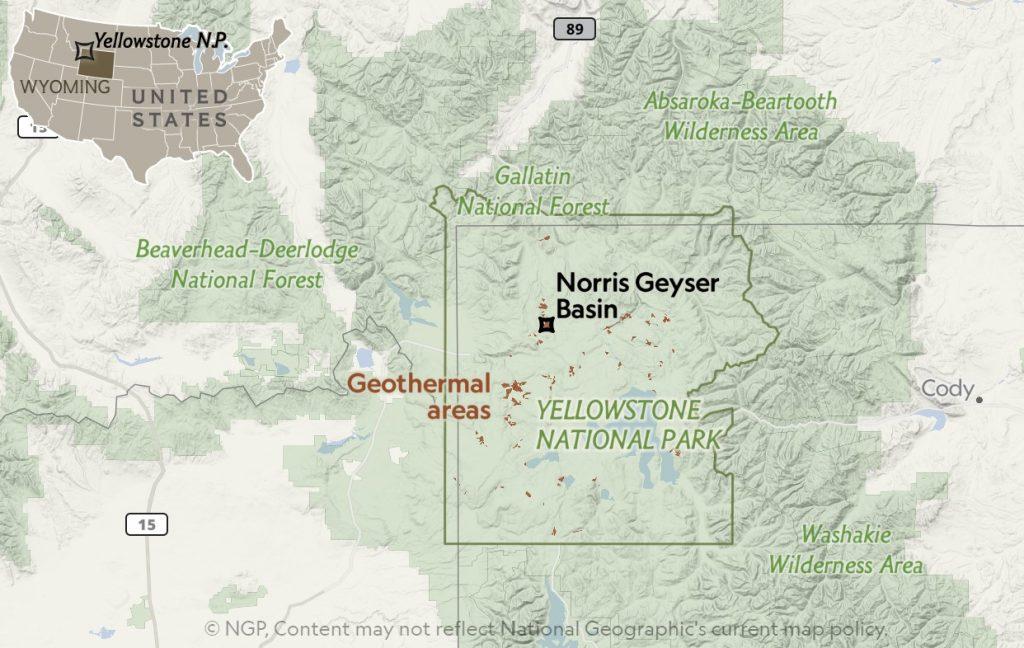 Why is norris Basin in Yellowstone breathing, norris basin in breathing, norris basin is pulsing, mysterious breathing phenomenon norris basin yellowstone