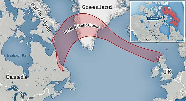remnant of lost continent found deep in Canada