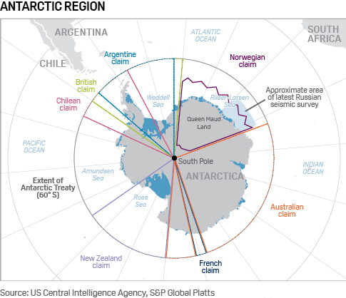 Meanwhile Russia and China want to annex Antarctica and its 513 billion barrels of oil- Strange Sounds