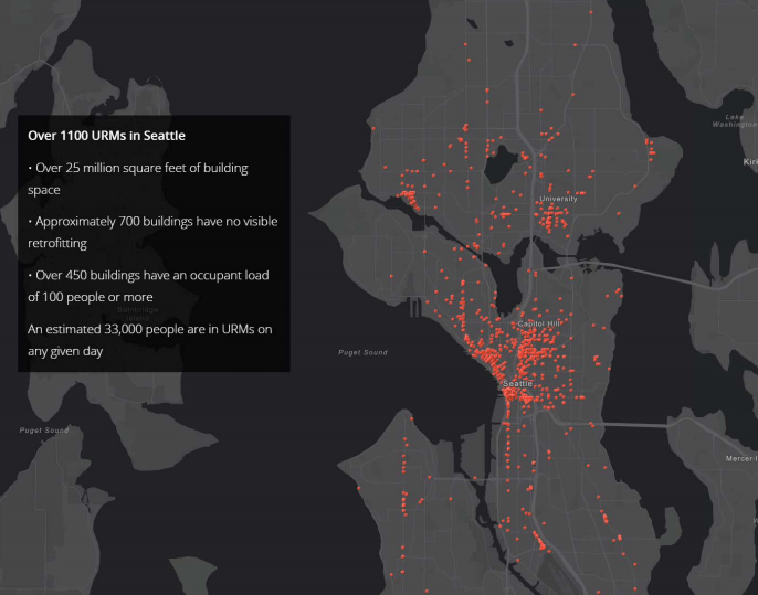 Thousands of buildings are unsafe if a Cascadia Subduction Zone earthquake hits