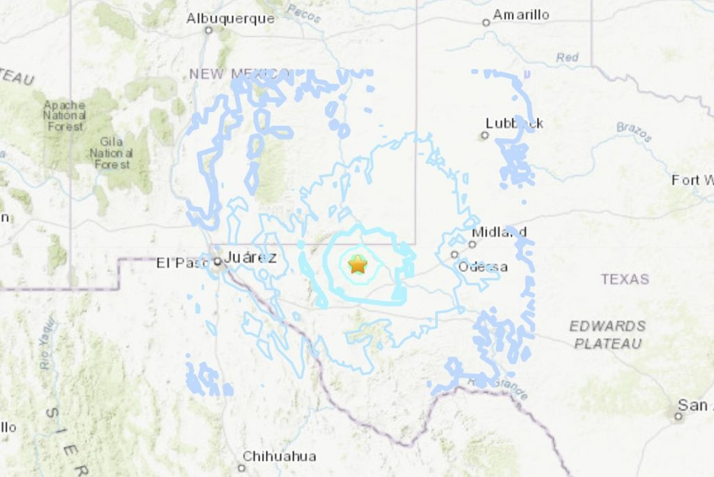 An extremely rare M5.0 earthquake hits Texas on March 26 2020, An extremely rare M5.0 earthquake hits Texas on March 26 map, An extremely rare M5.0 earthquake hits Texas on March 26 video, An extremely rare M5.0 earthquake hits Texas on March 26 pictures