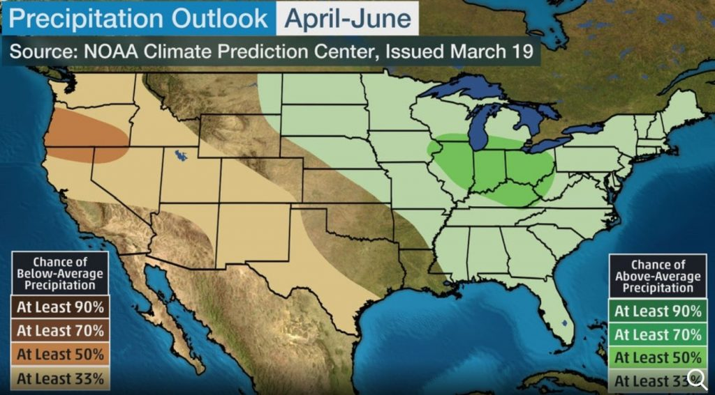 usa precipitation outlook spring 2020, usa precipitation outlook spring 2020 map, usa precipitation outlook spring 2020 march may 2020