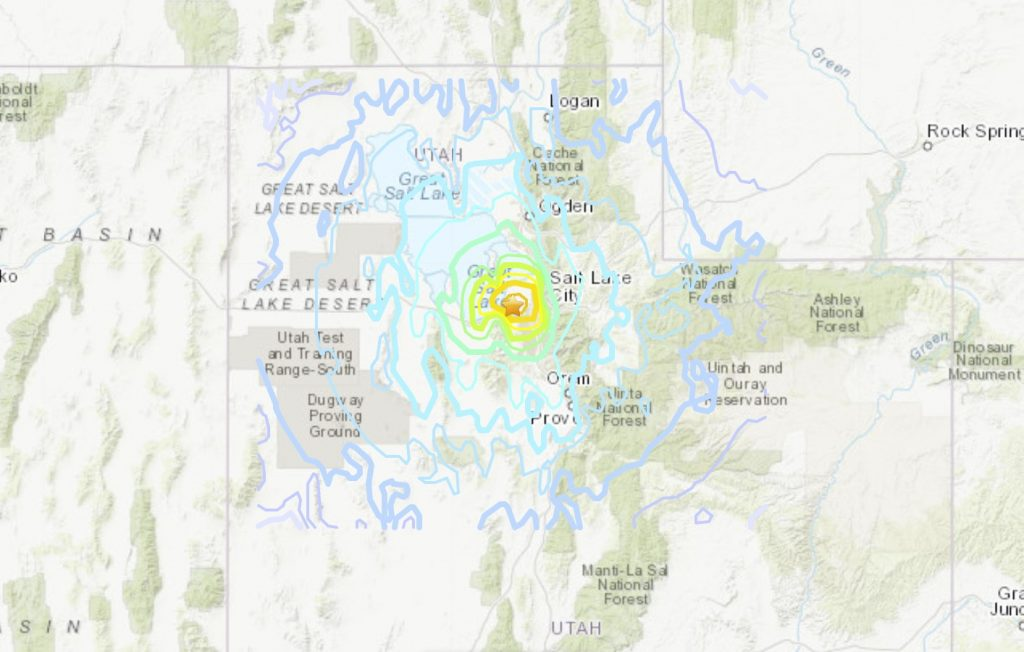 M5.7 earthquake rattles Utah on March 18 2020