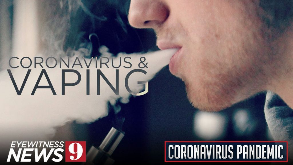 Vaping vs coronavirus pandemic
