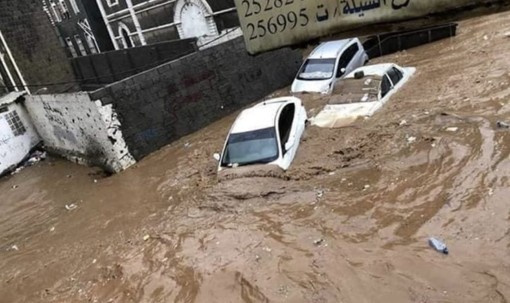 Deadly floods hit Yemen in videos and pictures, Deadly floods hit Yemen in videos and pictures march 2020