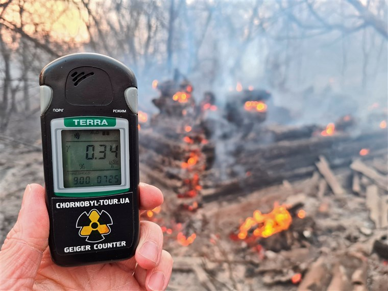 Chernobyl radiation levels spike dramatically as forest fires burn in exclusion zone, Chernobyl radiation levels spike dramatically as forest fires burn in exclusion zone april 2020, Chernobyl radiation levels spike dramatically as forest fires burn in exclusion zone video, Chernobyl radiation levels spike dramatically as forest fires burn in exclusion zone picture